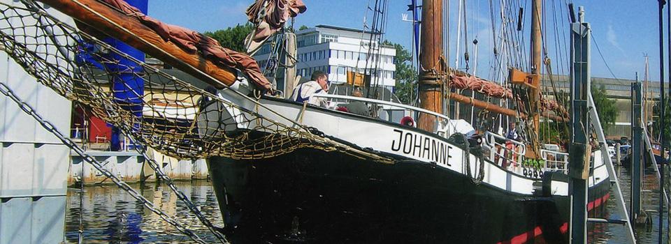 Johanne im Lübecker Hafen